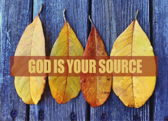 god-is-your-source